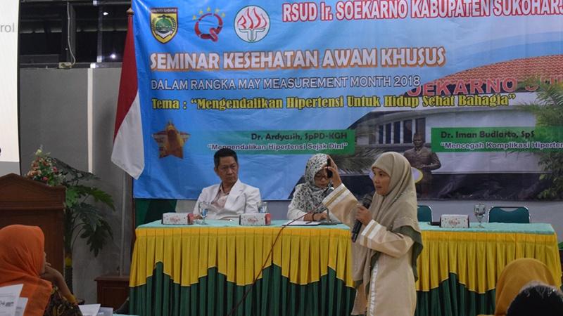 Seminar Kesehatan Awam Khusus Dalam Rangka May Measurement Month 2018