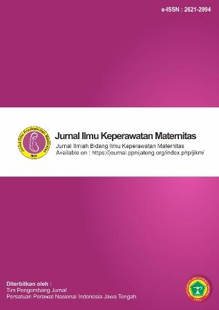 Jurnal Ilmu Keperawatan Maternitas