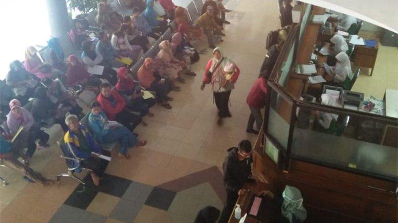 Hari Pertama Pelayanan Rawat Jalan Pasca Libur Lebaran 2018