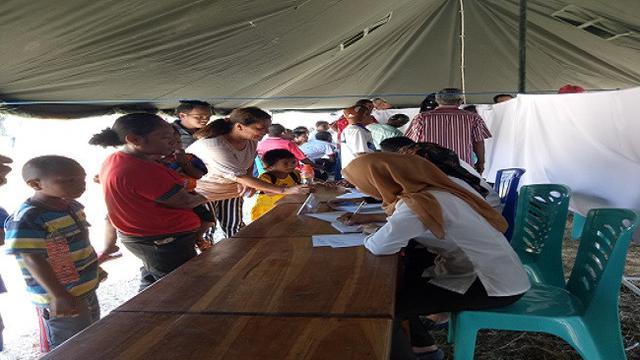 PLN dan RSCM Beri Pengobatan Gratis 500 Warga Pulau Liran