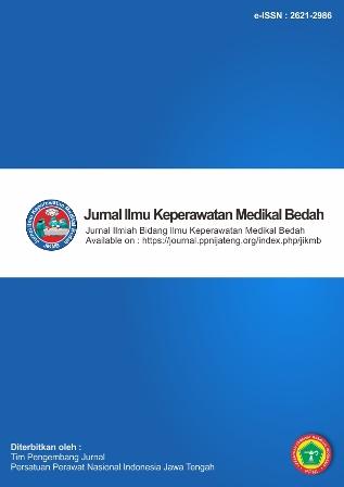 Jurnal Ilmu Keperawatan Medikal Bedah
