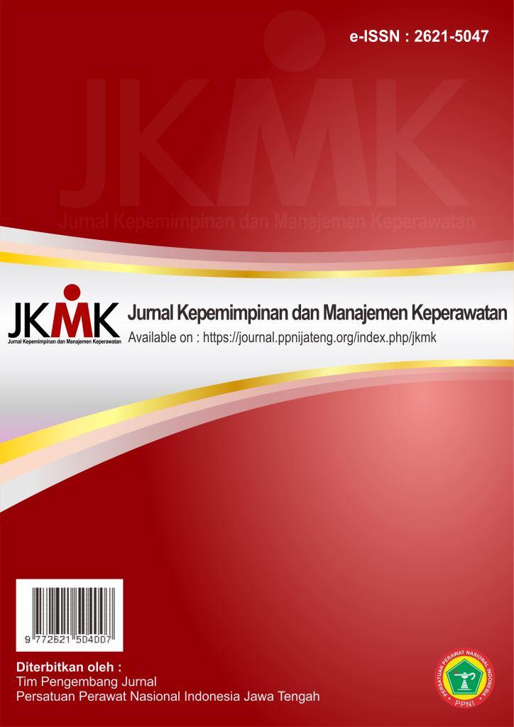 Jurnal Kepemimpinan dan Manajemen Keperawatan